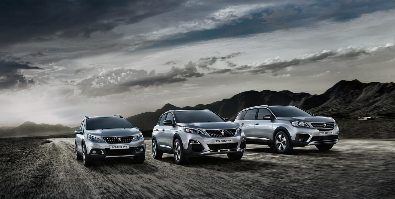 Gamme SUV Peugeot - 2008, 3008, 5008