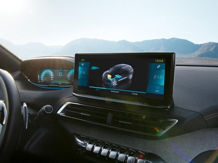 Nouveau SUV PEUGEOT 3008 HYBRID – Nouvel écran tactile 10'' HD